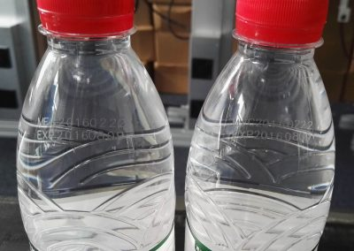 Tianhe Fly Laser Marking Machine PET bottle Application