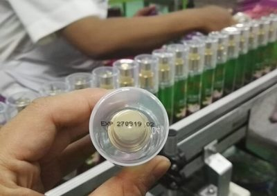 Tianhe Inkjet Coding System Cosmetic Application